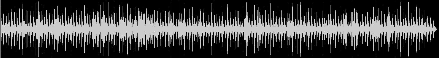 淡い・癒し 切ない静かな幻想的ピアノソロの未再生の波形