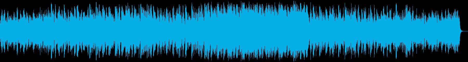 パズルゲームのBGMをイメージした曲で…の再生済みの波形