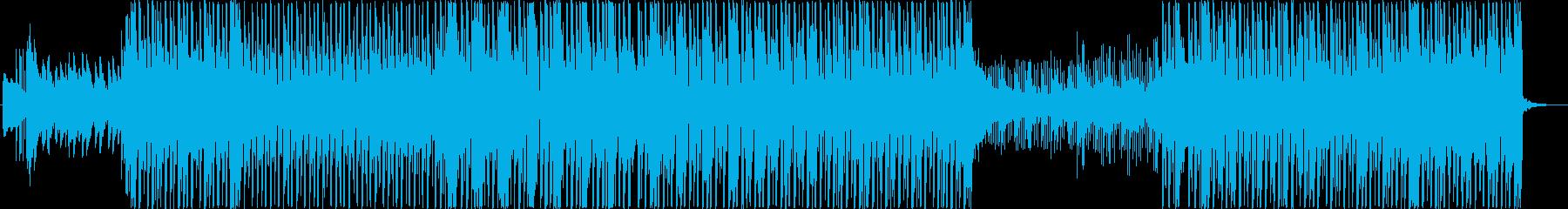 洋楽レゲエ・ソカポップトラックの再生済みの波形