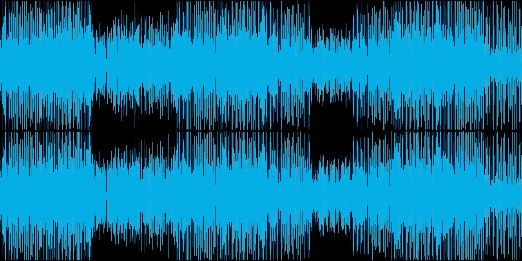 ファンク ヒップポップ バラエティー の再生済みの波形