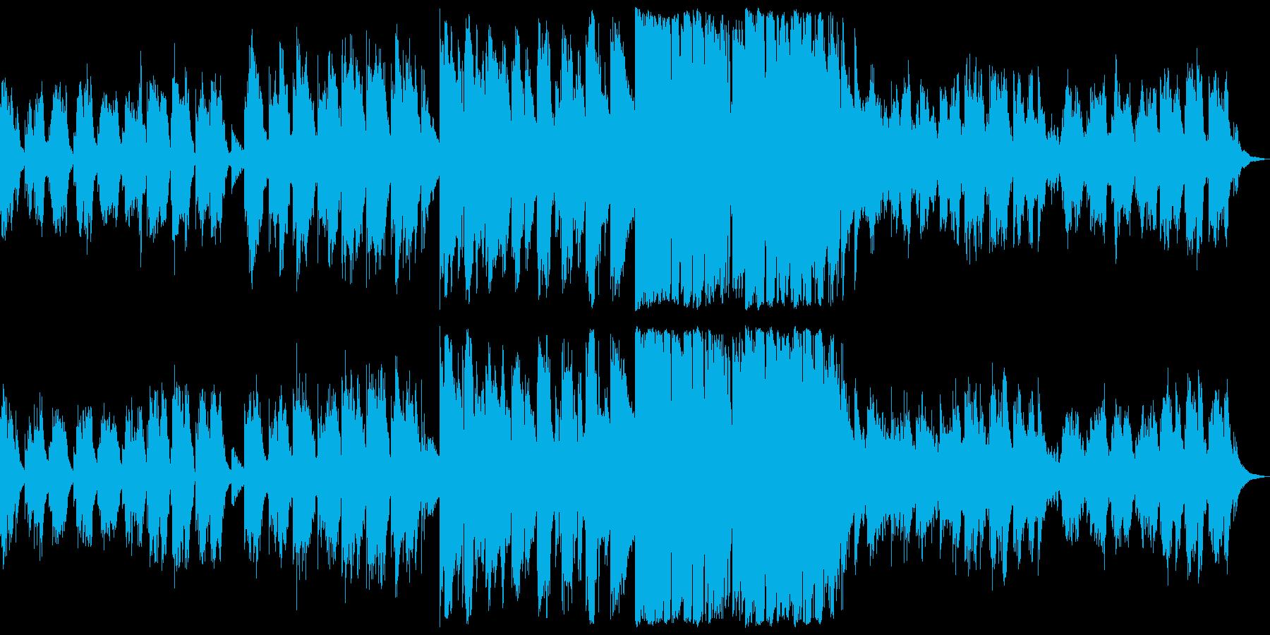 東洋と西洋の音を絶妙に合わせた美しい音楽の再生済みの波形