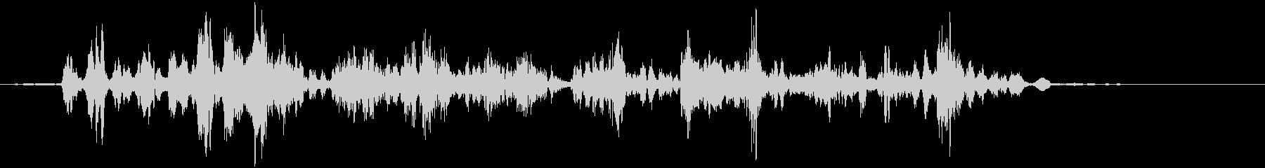 KANT 鳥のロボット声効果音4の未再生の波形
