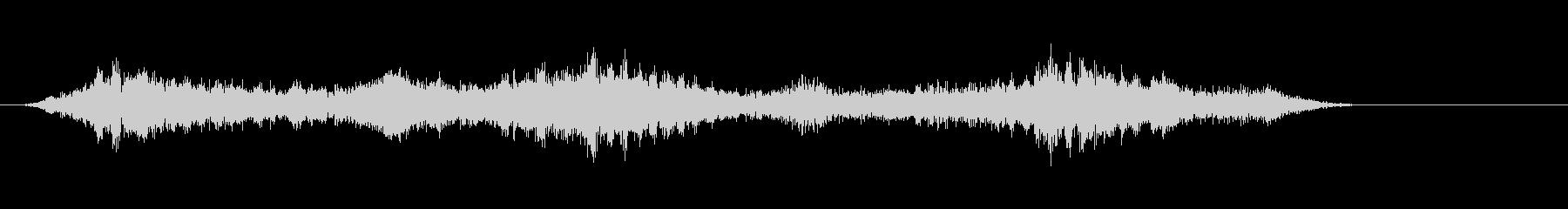 3「不安定、暗い、奇妙、嫌な音」の未再生の波形