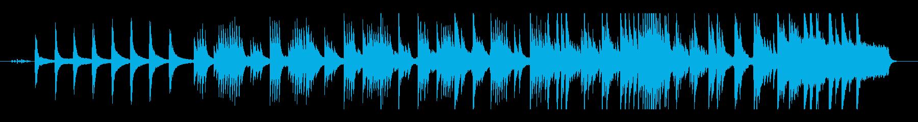 森の静かなエレクトロニカの再生済みの波形