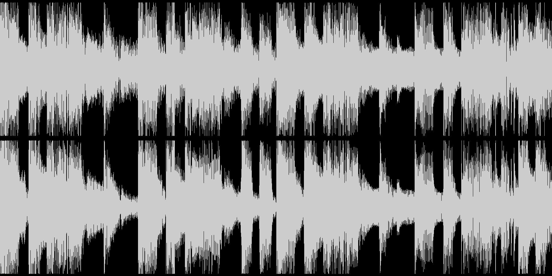 ループ。オシャレギター。80年代風。の未再生の波形