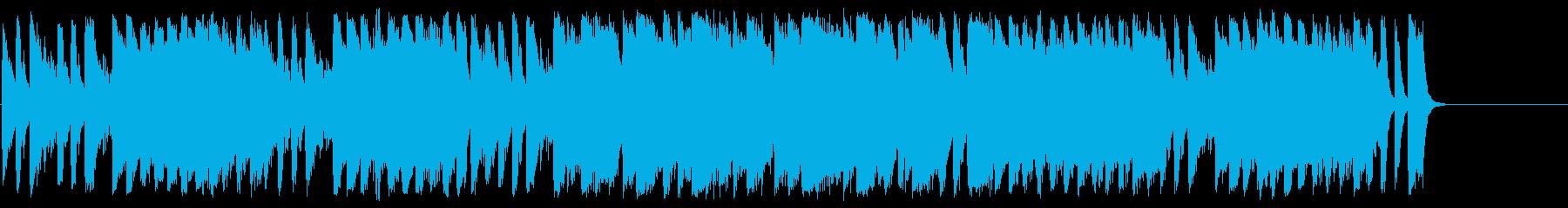 サーカスチックで不思議なメルヘンBGMの再生済みの波形