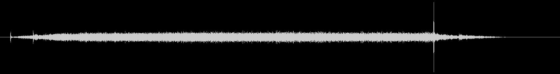 ドライヤーの音(ブラシタイプ)の未再生の波形