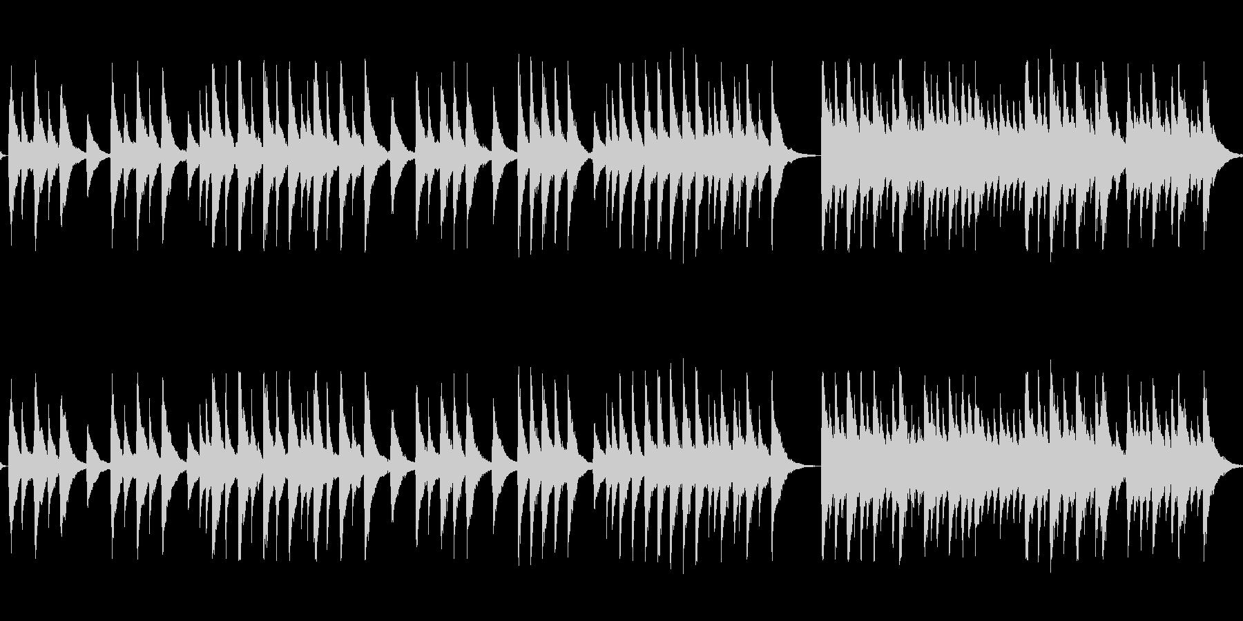 レトロなオルゴールの音色で感謝を伝えたいの未再生の波形