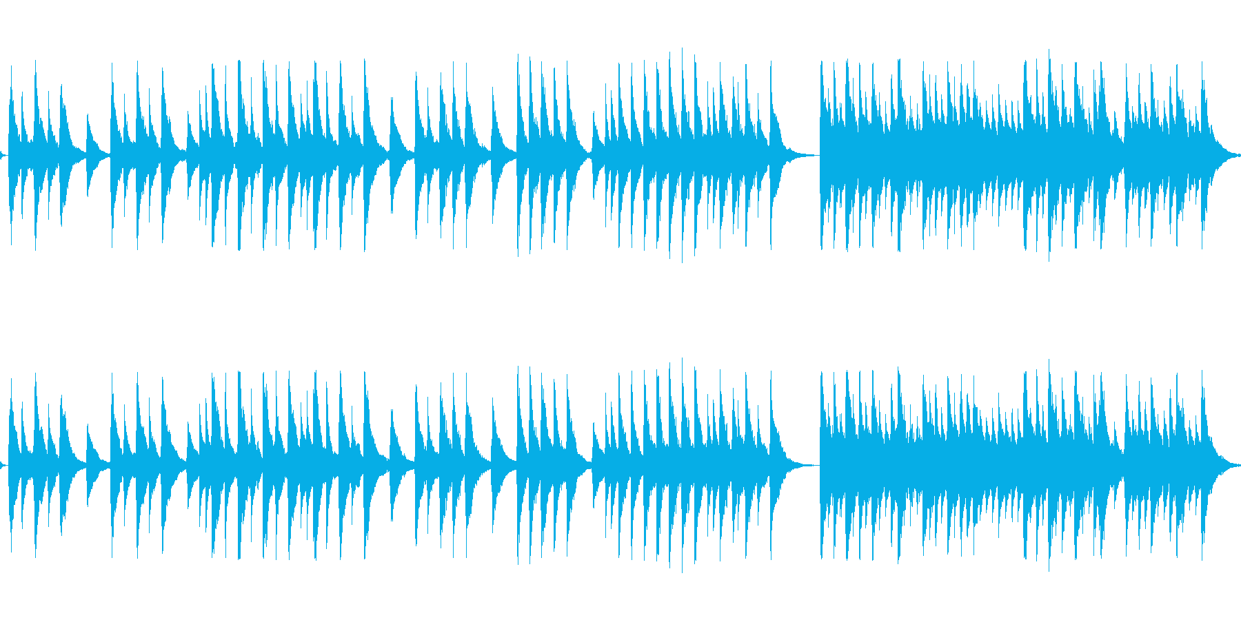 レトロなオルゴールの音色で感謝を伝えたいの再生済みの波形