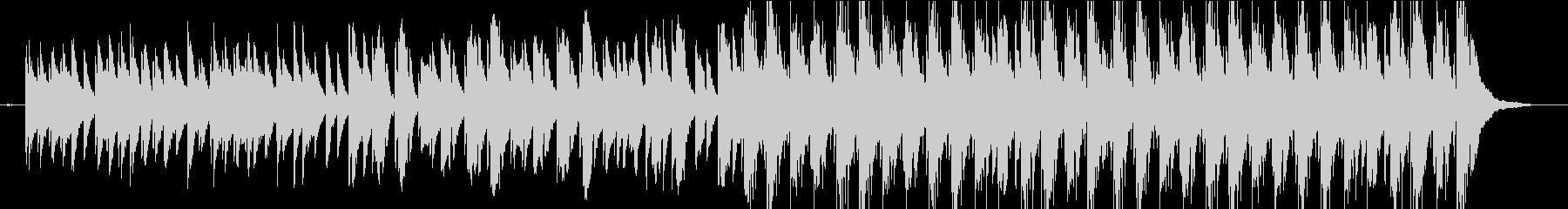 企業VPや映像に軽快わくわくピアノBGMの未再生の波形