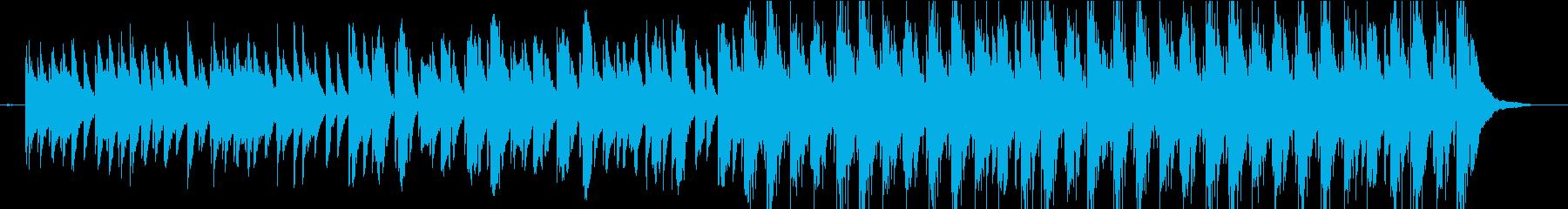 企業VPや映像に軽快わくわくピアノBGMの再生済みの波形