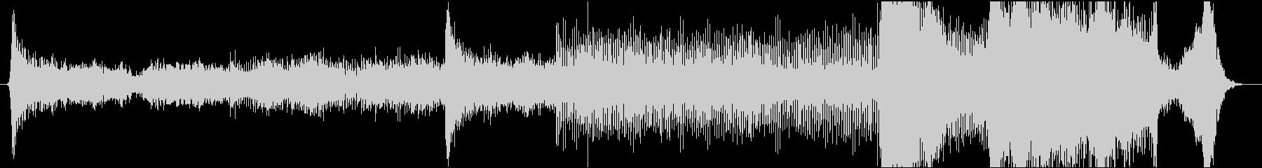 現代的 交響曲 エレクトロ アンビ...の未再生の波形