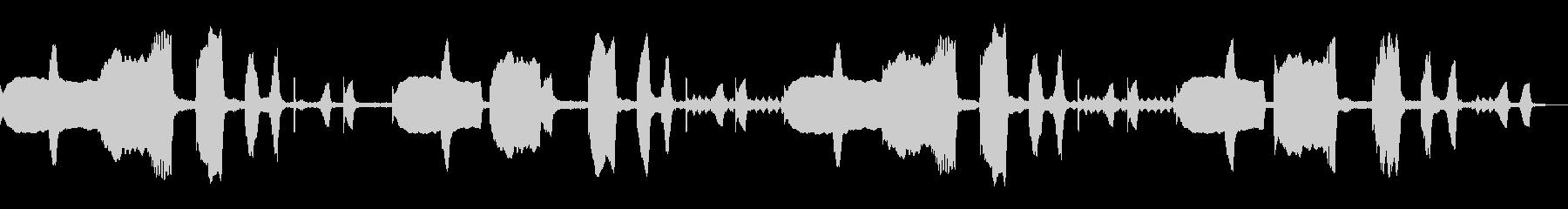 ほのぼの系~リコーダーと打楽器のループ~の未再生の波形