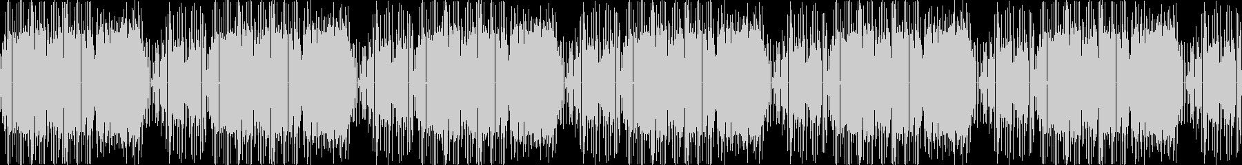 レトロゲームのOPのような8bitジャズの未再生の波形