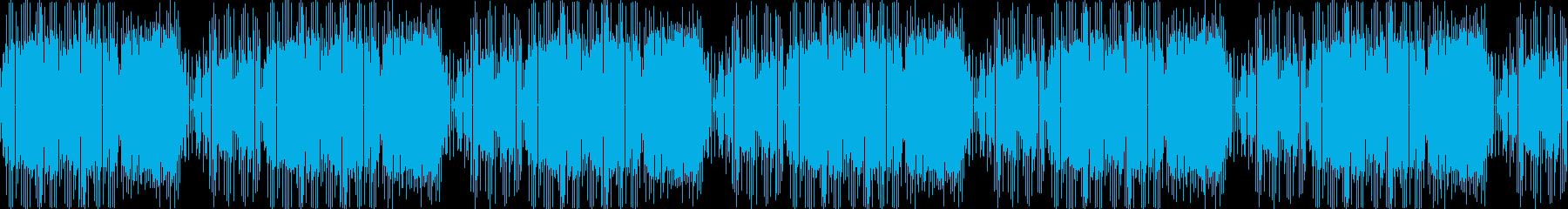 レトロゲームのOPのような8bitジャズの再生済みの波形