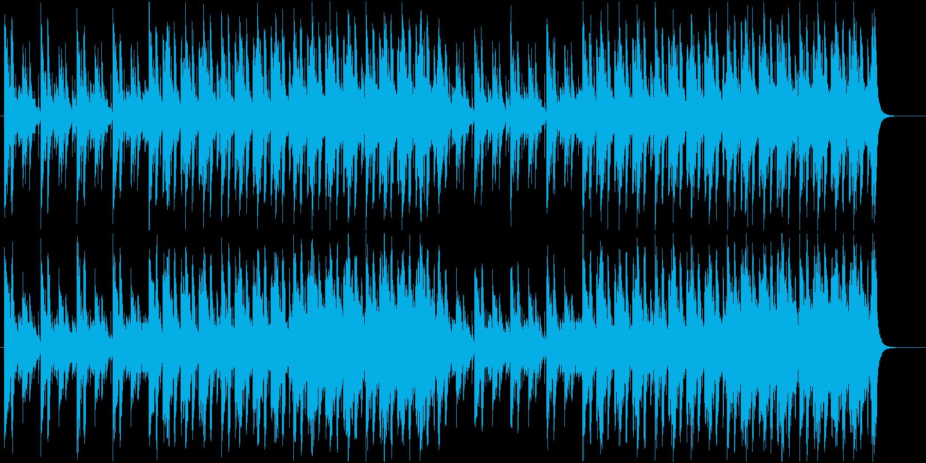 緊張感/ストリングス/ビートの再生済みの波形