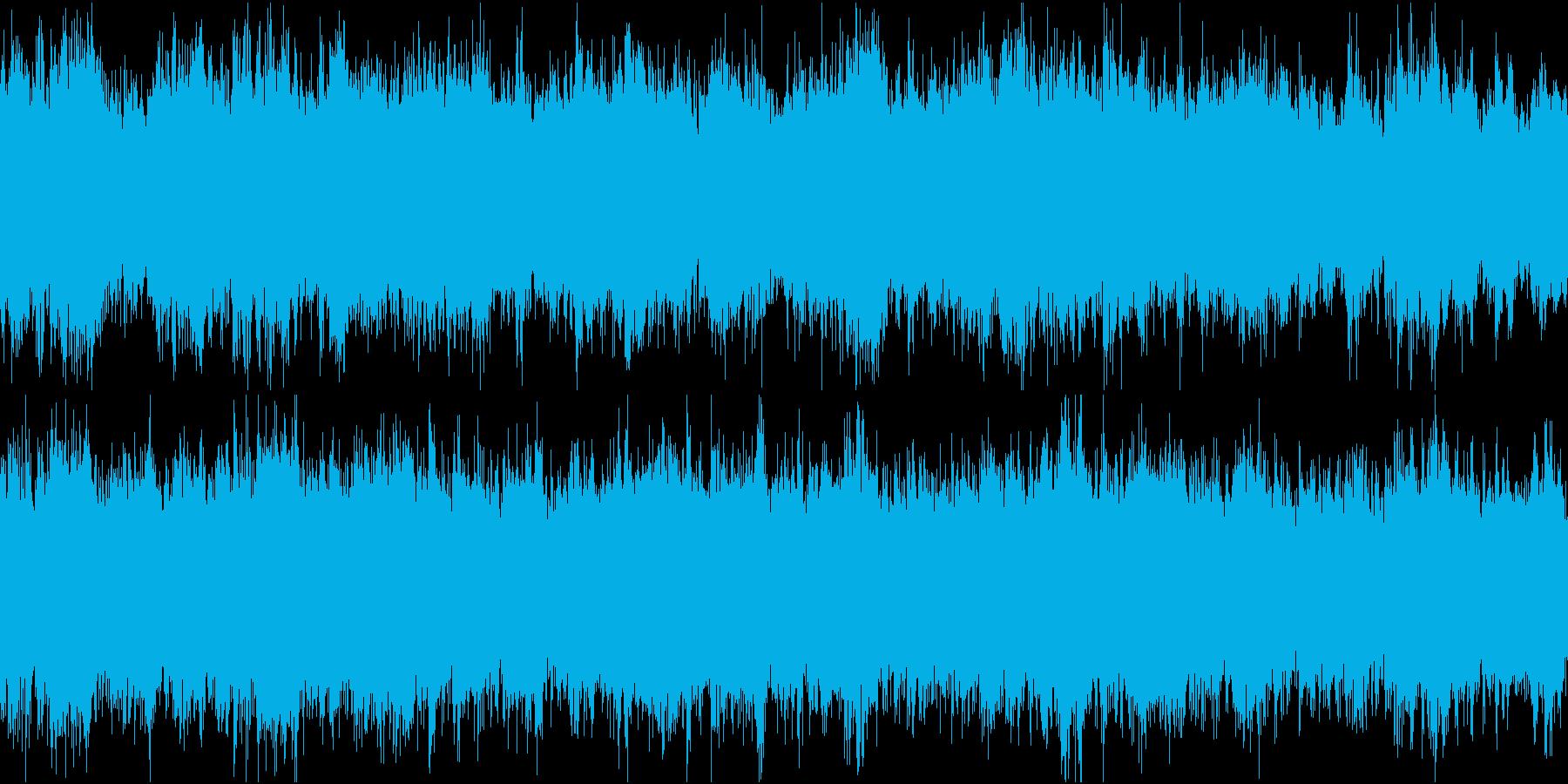 ドキュメンタリーやさしい曲1 リズムなしの再生済みの波形