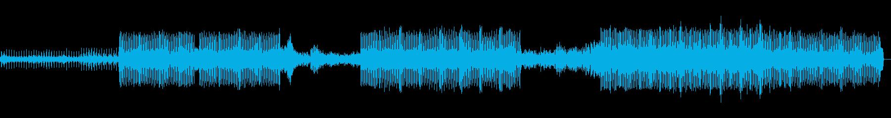 トランスの再生済みの波形