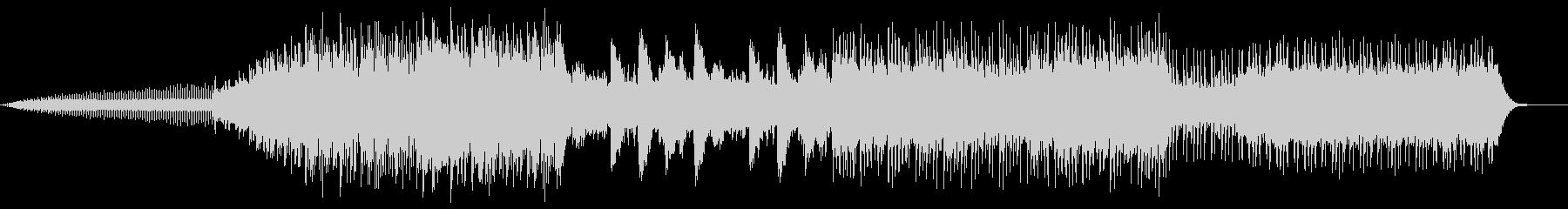 アジアンポップBGMの未再生の波形
