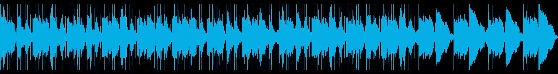 ギターLofi Hiphop 切ないの再生済みの波形