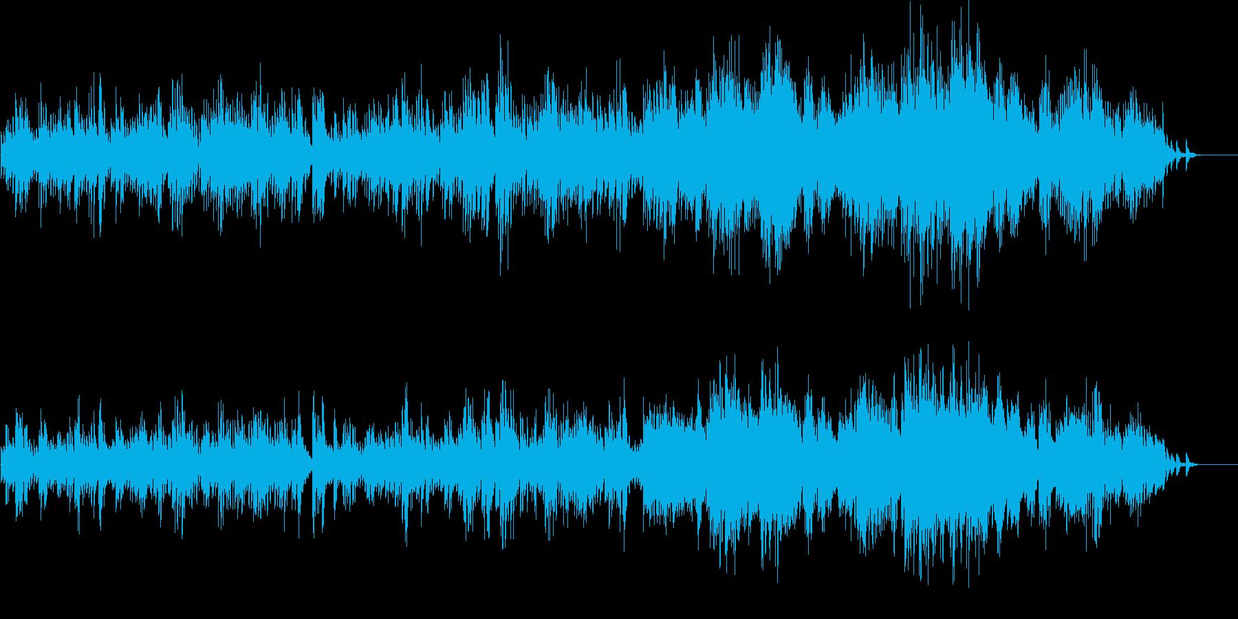 完全なるクラシックピアノとヴォイスの再生済みの波形