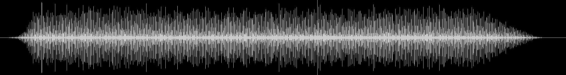 映画風のヘリコプター・バタバタ・効果音の未再生の波形