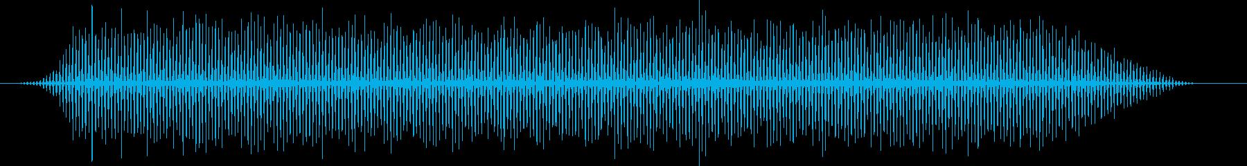 映画風のヘリコプター・バタバタ・効果音の再生済みの波形