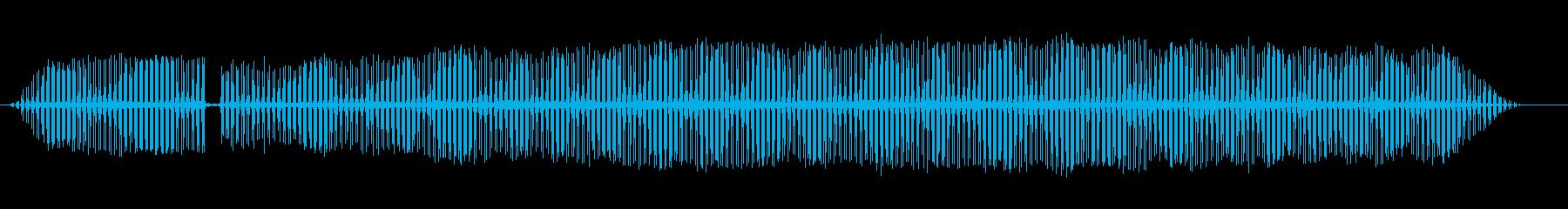 緑のバッタの再生済みの波形