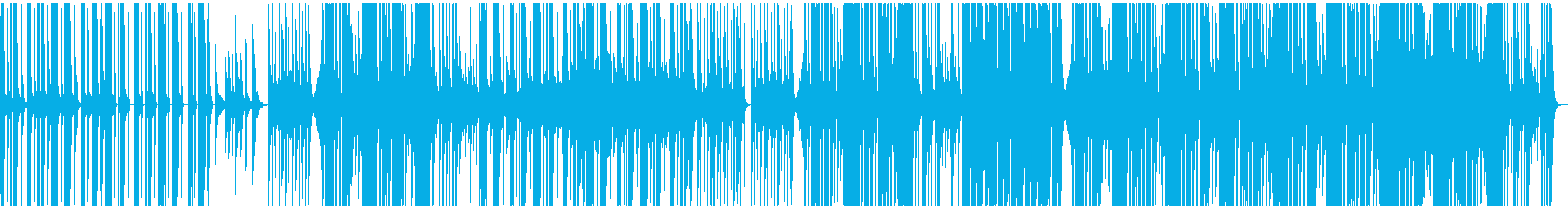 クール、ダーク、洋楽テイストの再生済みの波形