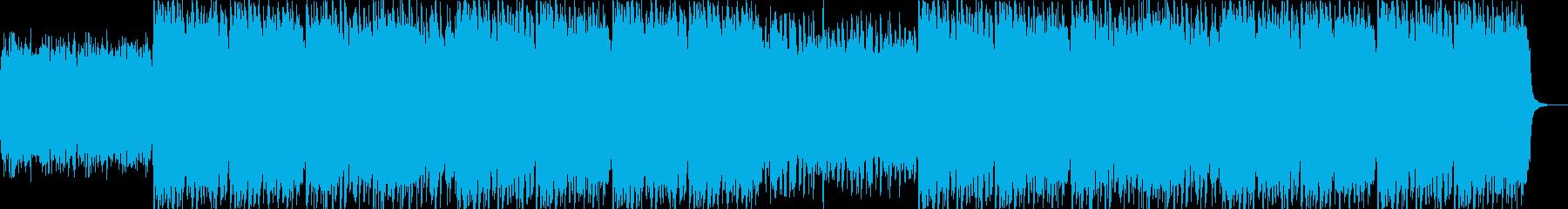 Irish Bagpipeの再生済みの波形