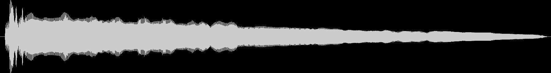 素材 ディジュリドゥジャンプスロー03の未再生の波形