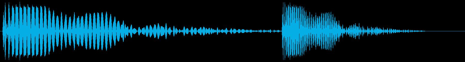 ポカッ(キャッチーな攻撃音)の再生済みの波形