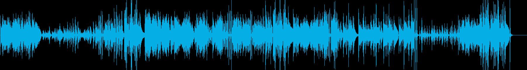 エンディングに合うピアノソロの再生済みの波形
