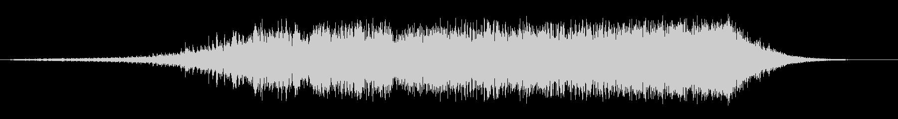 ビッグピアススイープの未再生の波形