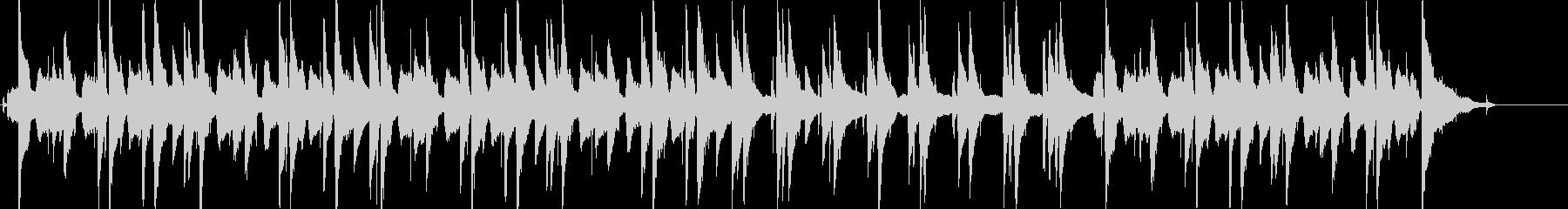 シンプルながら大人な雰囲気のJazzの未再生の波形