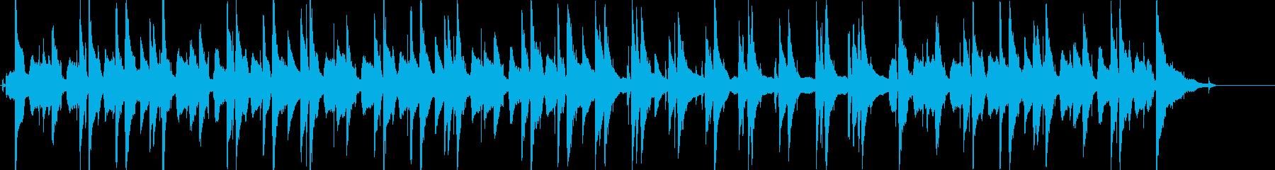 シンプルながら大人な雰囲気のJazzの再生済みの波形
