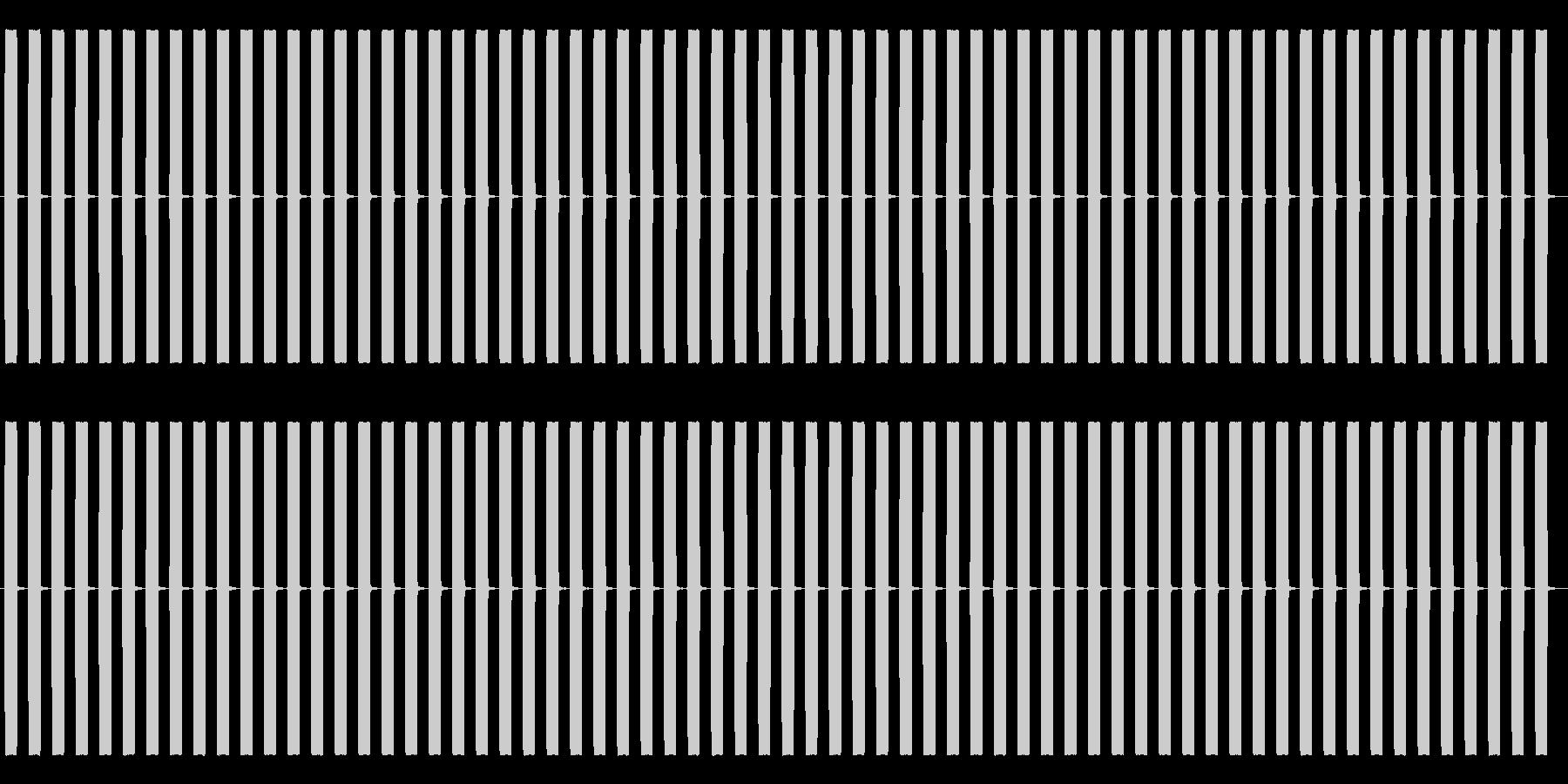 【効果音】目覚まし時計2_ループの未再生の波形