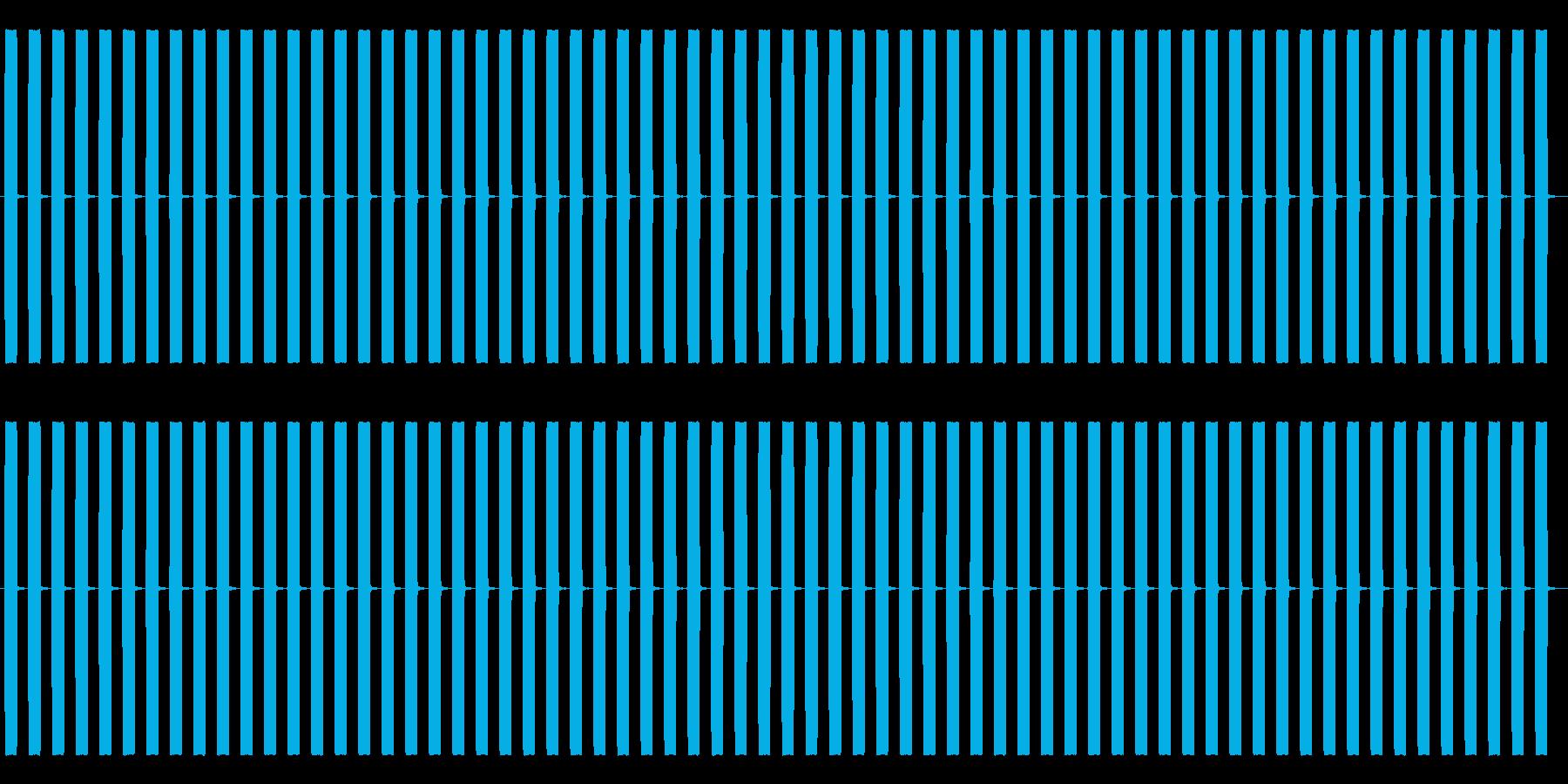 【効果音】目覚まし時計2_ループの再生済みの波形
