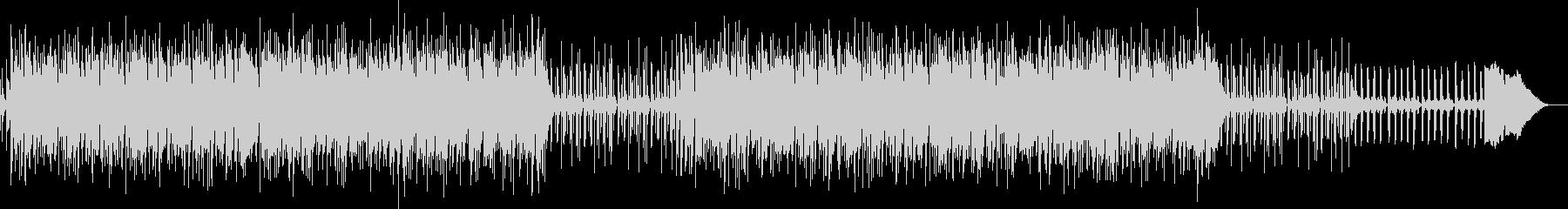 サックスフレーズのジャズボサノバ風BGMの未再生の波形