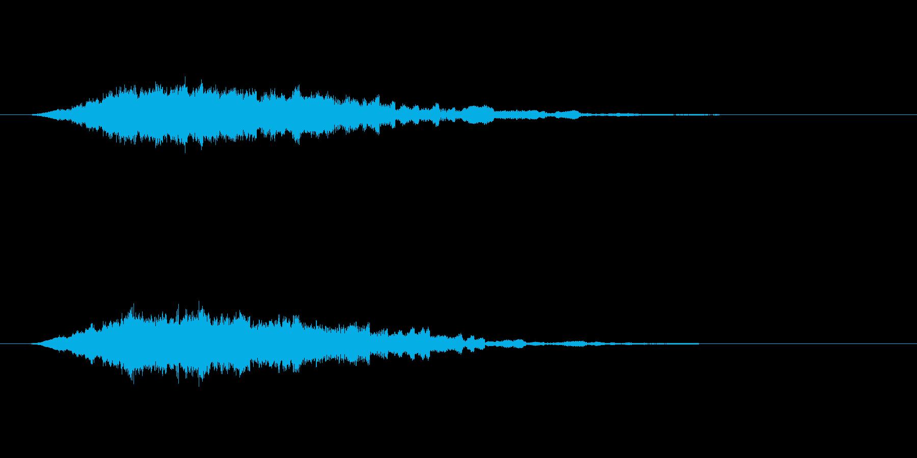 逆チャイムライトミスティックメロデ...の再生済みの波形