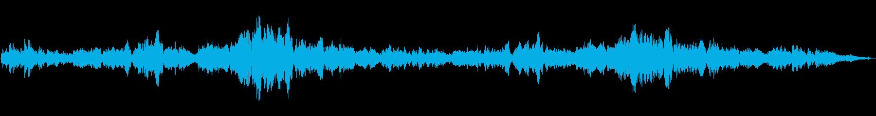 美しい流れるような旋律のクラシック声楽曲の再生済みの波形