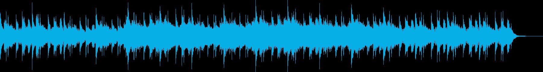不安をあおるようなサスペンスホラーBGMの再生済みの波形