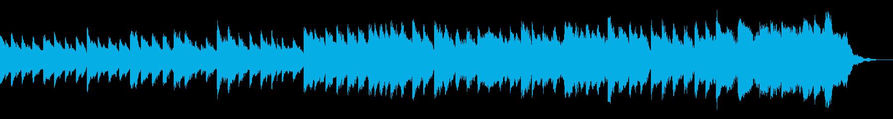 やや切ないピアノコードと弦=盛り上がるの再生済みの波形
