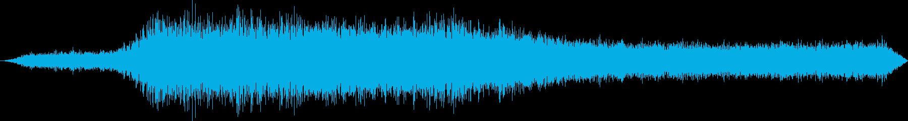 ボーイング777ジェット旅客機:I...の再生済みの波形