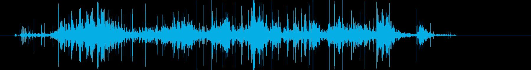 木 中圧01の再生済みの波形