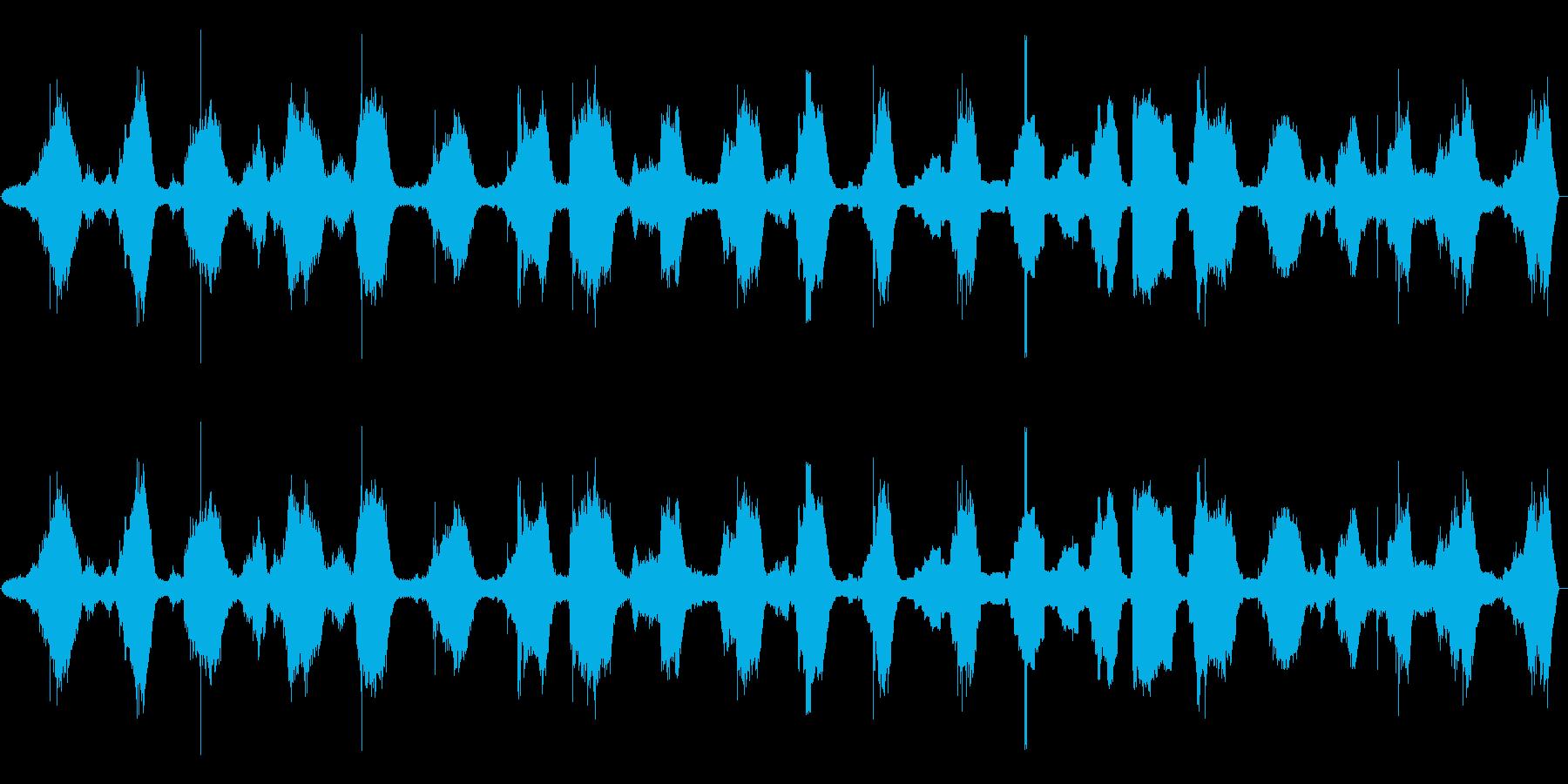 波-ロング-ビーチでの再生済みの波形