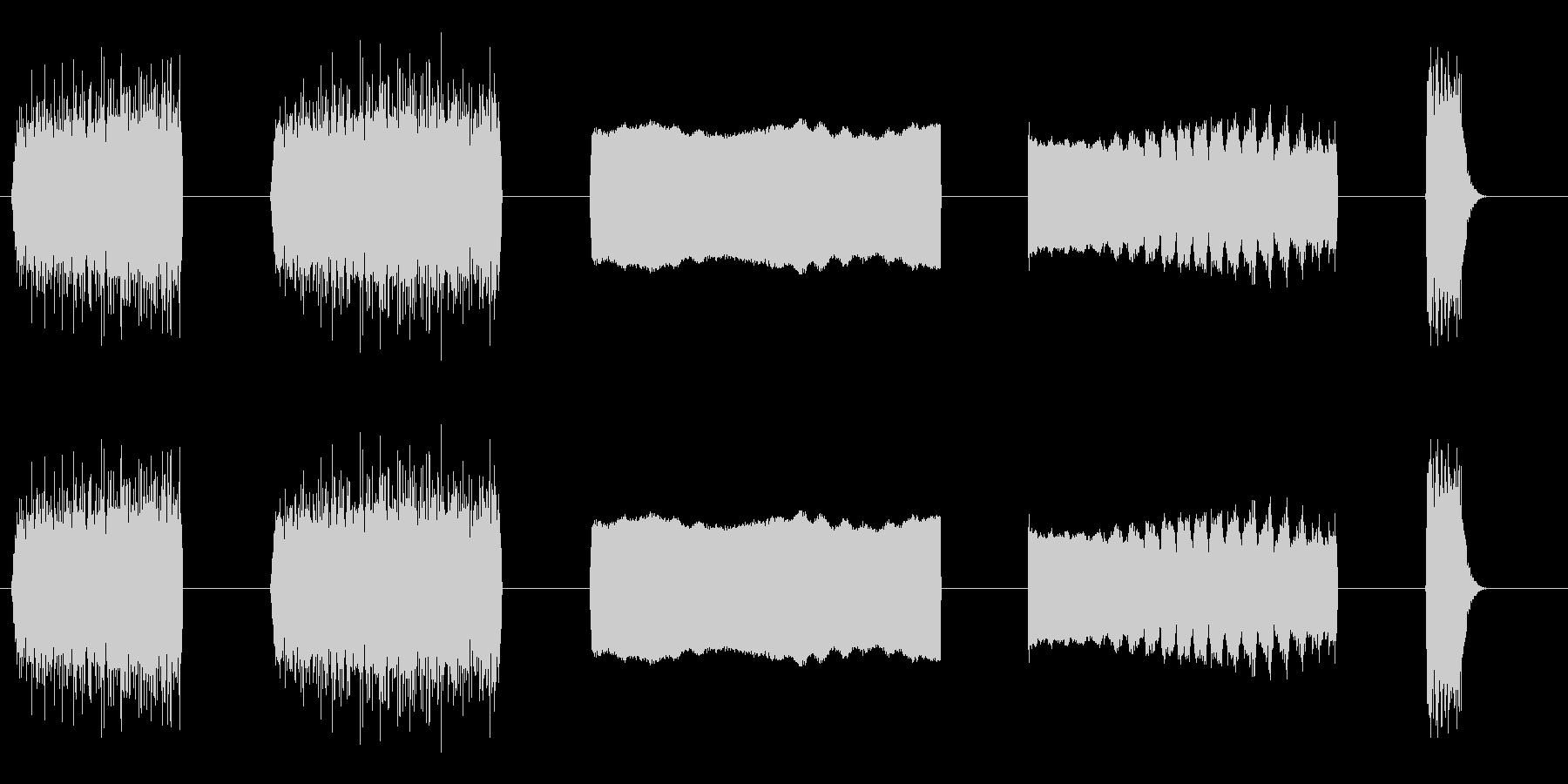 レーザービームミディアムレーザービ...の未再生の波形
