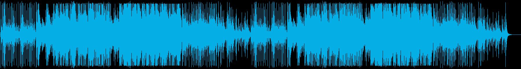 三味線と和太鼓かっこいい和風/掛け声なしの再生済みの波形