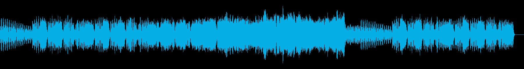ほのぼのとしたトランペットのBGMの再生済みの波形
