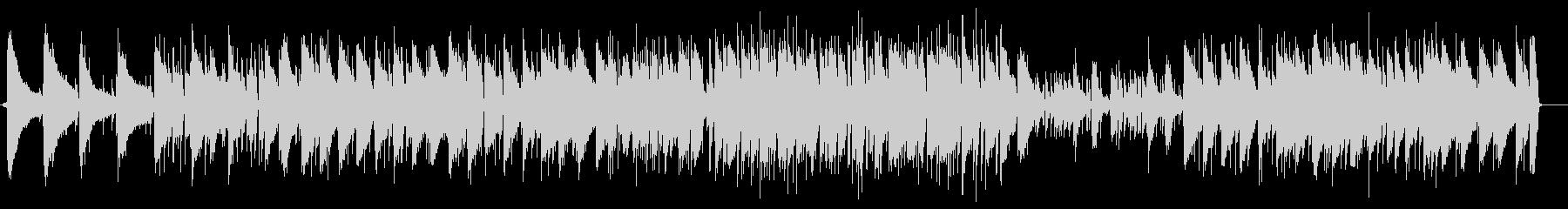チャイコフスキーのジャズピアノの未再生の波形